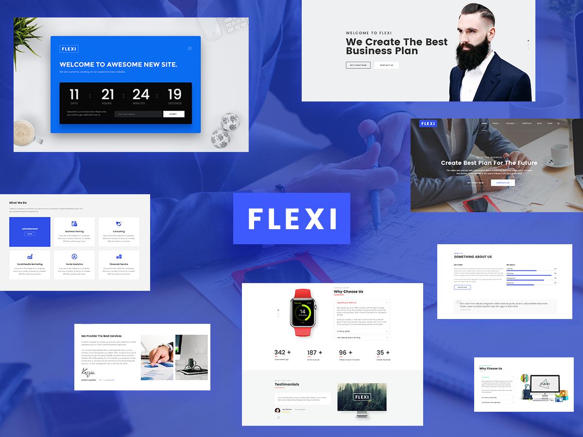 Flexi - Simple WordPress Portfolio Theme